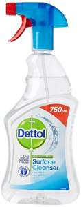Dettol Antibacterial Surface Cleaning Spray, 750 ml, Pack of 3 at Amazon for £3.75 Prime (+£4.49 non Prime)