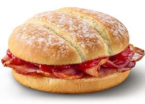 Free McBacon Roll with any hot drink at McDonalds via App