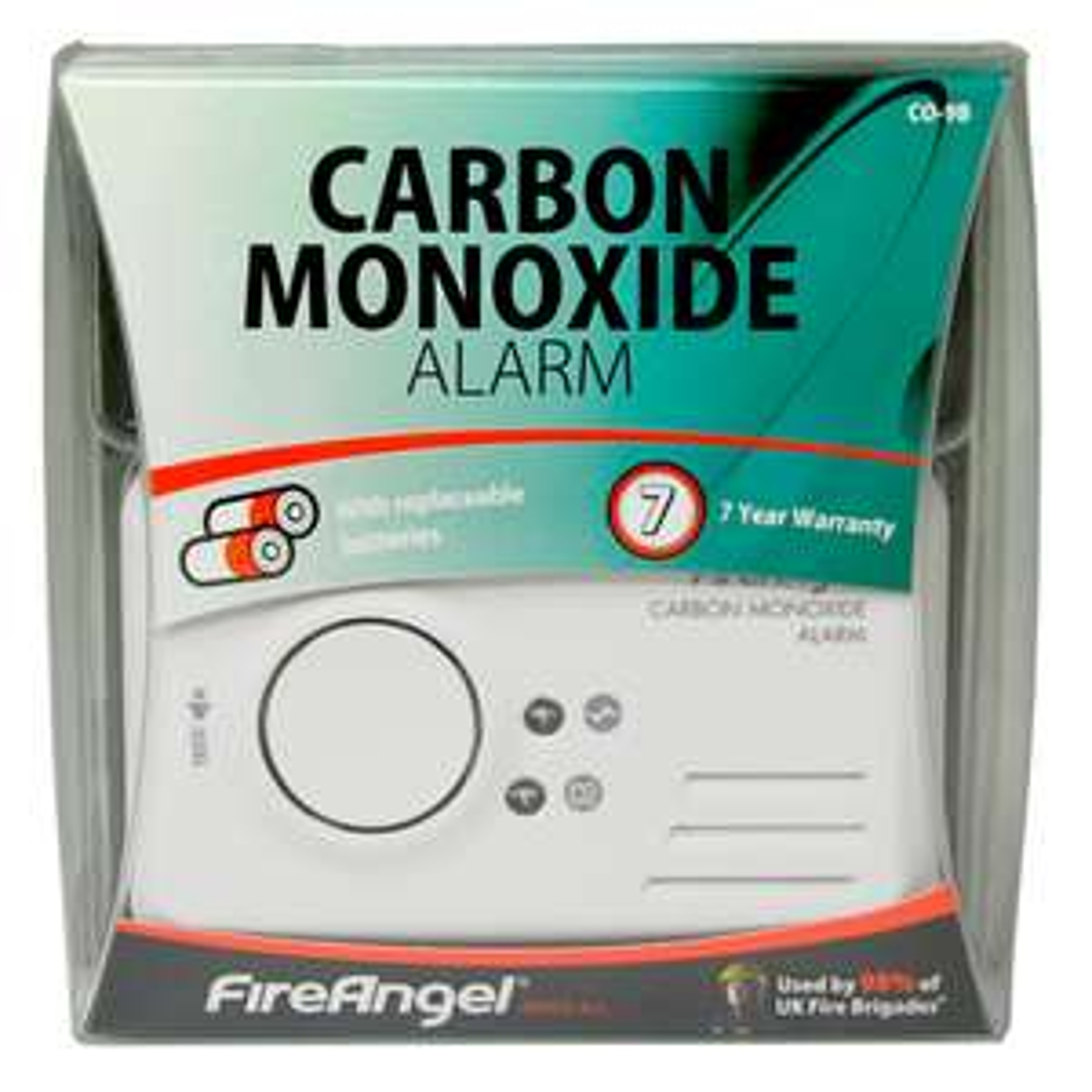 Fireangel Carbon Monoxide Alarm £4.50 or Fire Angel 10 Year Life Heat Alarm £3.50 @ Tesco