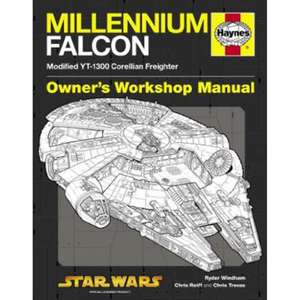 Millennium Falcon Manual - Modified YT-1300 Corellian Freighter now £2 free click and collect at The Works