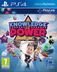 Sony Knowledge Is Power (PS4) - Australian Import now £4.95 delivered at The Game Collection eBay