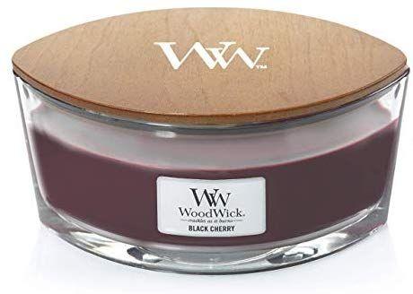 WoodWick Ellipse Scented Candle, Black Cherry £17.99 at Amazon Prime / £22.48 Non Prime