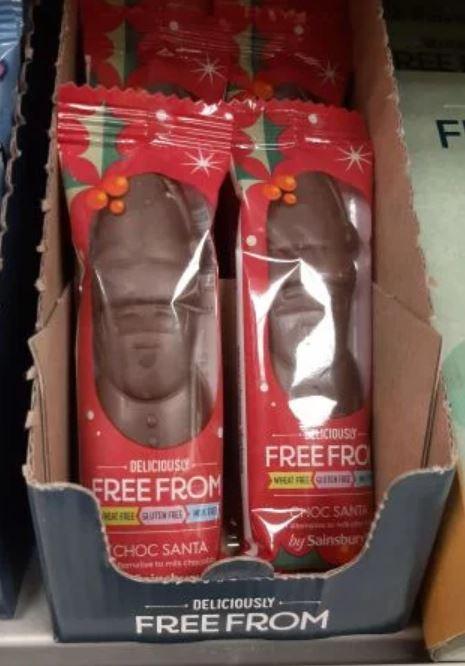 Free From Chocolate Santas 15p at Sainsbury's local farnley ring road Leeds