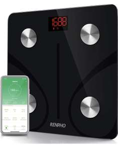 RENPHO Bluetooth Body Fat & Weight Scales £26.99 Sold by RENPHO LIMITED and Fulfilled by Amazon