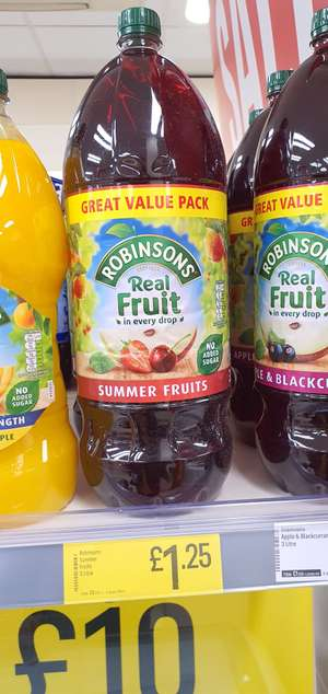 Robinsons summer fruits 3L @ Iceland