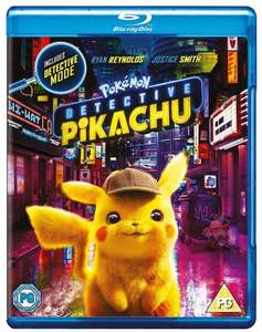 Pokémon Detective Pikachu (Blu-Ray) £8.99 - new customers only at Warner Bros Shop