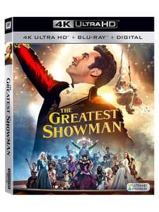The greatest showman 4k £4 Ebay / cinemadiso free delivery