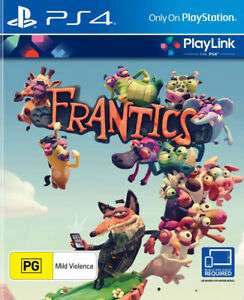 Frantics (PS4) now £5.95 delivered at The Game Collection eBay
