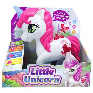 Little Unicorn Touch & Talk Interactive Electronic Toy Pet Now £4@ B&M Bargains In store Leeds / National