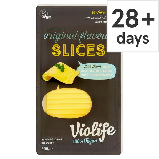 Violife Original Sliced 200G - £2 @ Tesco