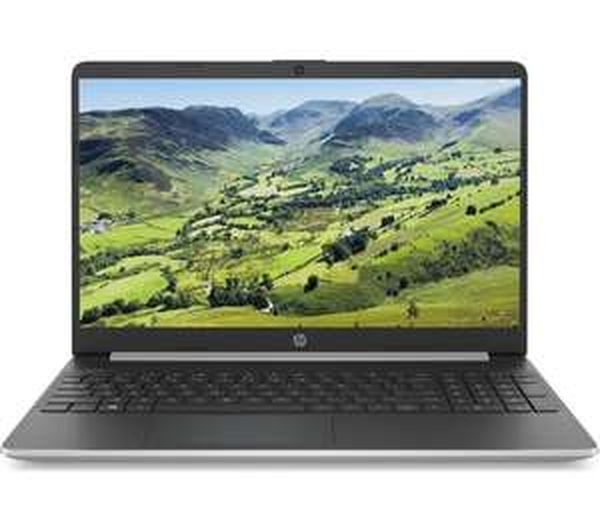 "HP 15s-fq1514sa 15.6"" Laptop - Intel® Core™ i3(10th gen), 128 GB SSD, Full HD, Silver £299 at Currys PC World"