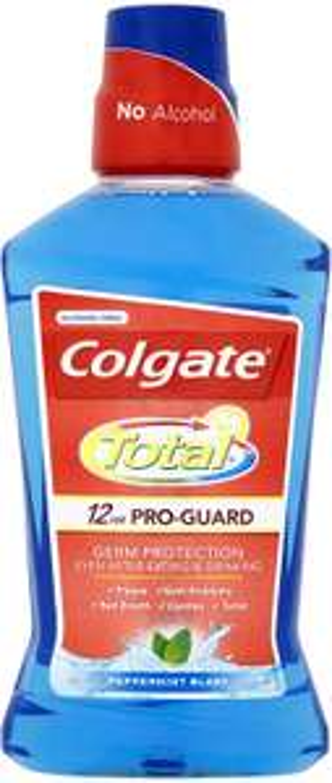 Colgate Total Peppermint Blast Mouthwash, 500 ml - £1.79 Prime / +£4.49 non Prime @ Amazon