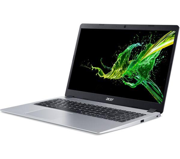 """ACER Aspire 5 A515-43 15.6"""" IPS Full HD AMD Ryzen 3 Laptop - 4GB RAM,256 GB SSD, Silver"""