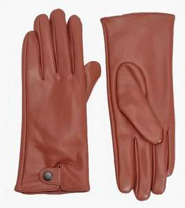 PU Popper Gloves Tan 10% code with app £1.80 @ boohoo with premier or delivery non members £3.99
