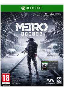 Metro Exodus + Bonus DLC and Poster on Xbox One now £12.85 delivered at Simply Games
