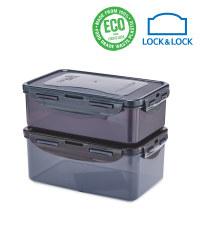 Lock & Lock Eco Food Storage 2 Pack 1l/1.4l £3.99 Aldi High Wycombe