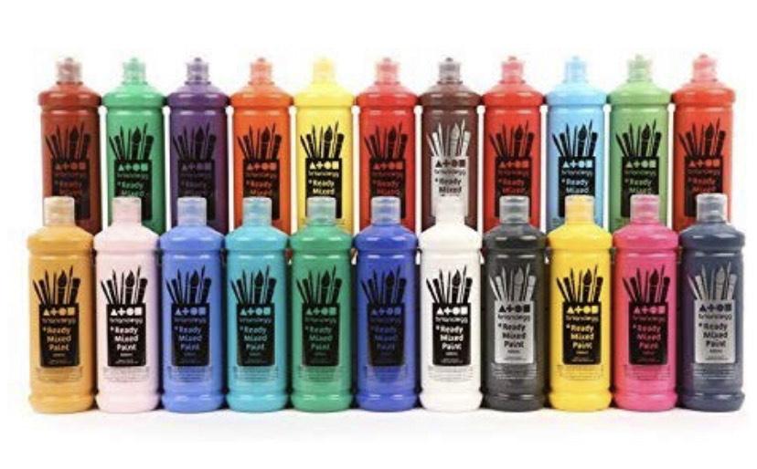 Paint 600ml Paint, Few colours available , 600ml - 75p @ Amazon Prime Delivered