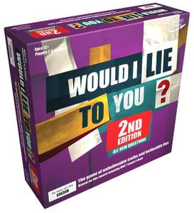 Rocket Games ROC1436 Would I Lie to You 2nd Edition, Mixed Colours £8.40 (Prime) £12.89 (Non-Prime) @ Amazon