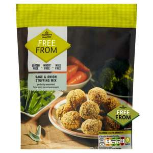 Morrisons - Free From - Vegetable Gravy Granules 60p/170g - Sage & Onion Stuffing Mix 170g - 45p