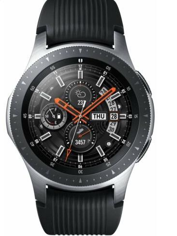 Refurbished Samsung Galaxy 46mm 4GB Bluetooth Smart Watch - Silver (Free Postage) £129.99 @ Argos Ebay