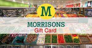 10% off on B&Q and Dining Out (Harvester, Miller&Carter, Ember Inn etc) Giftcards at Morrisons instore