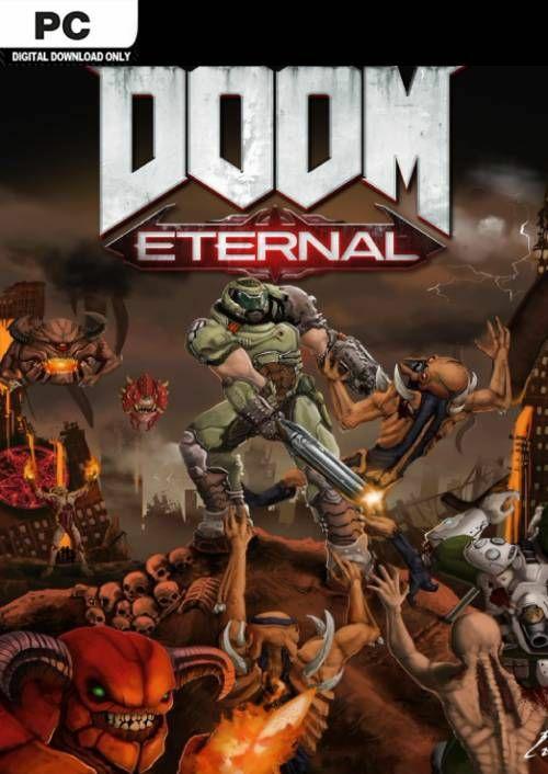 DOOM Eternal PC Pre-order now £29.99 at CD Keys