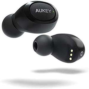 AUKEY Portable Wireless Headphones T16S- IPX5. 11Hr Playtime , HIFI Sound - Black for £22.80 Delivered @ Amazon UK