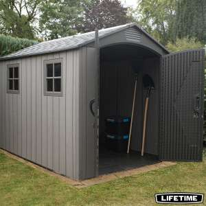 "Lifetime 7ft x 9ft 6"" (2.1x 2.9m) Rough Cut Storage Shed £749.89 @ Costco"