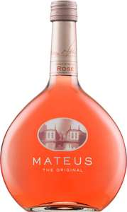 Mateus Rose Original Wine, 75cl (case of 6) £5.99 Amazon
