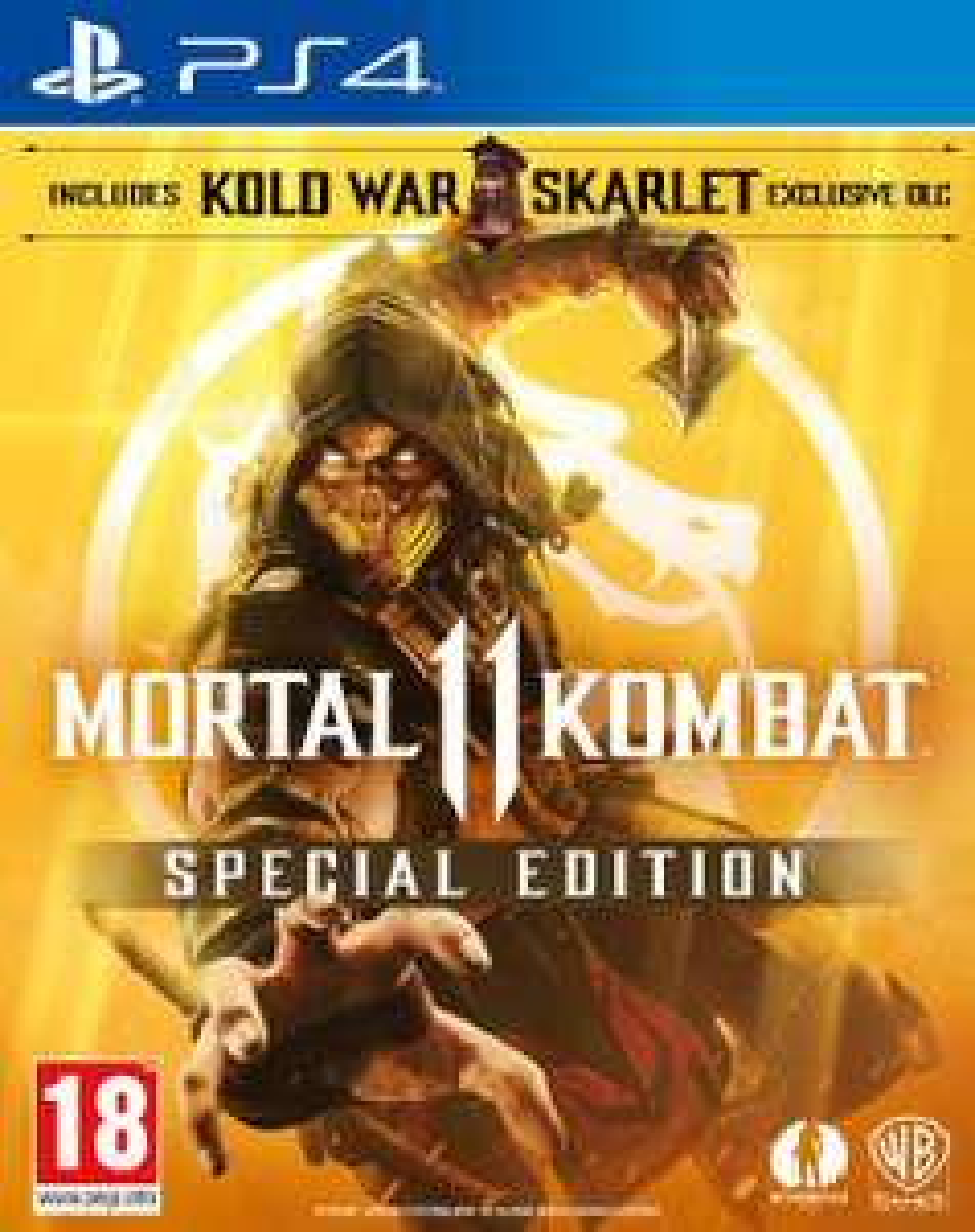 Mortal Kombat 11 Special Edition (Amazon Exclusive) (PS4) £28.99 @ Amazon.uk