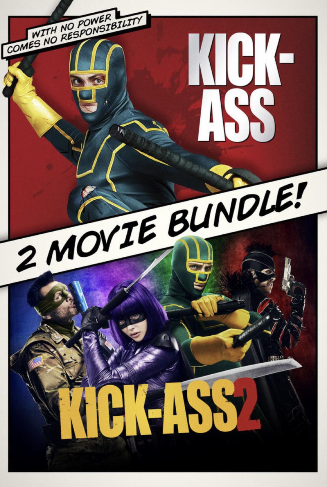Kick-Ass and Kick-Ass 2 Movie Bundle £5.99 - ITunes