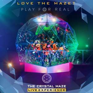 For two, the Crystal Maze Live experience with a cocktail, crystal, and team photo £43.13pp (£86.26) + other options using code @ Groupon