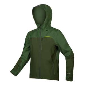 Endura Singletrack Waterproof Jacket Forest Green £69.99 Cycle Store