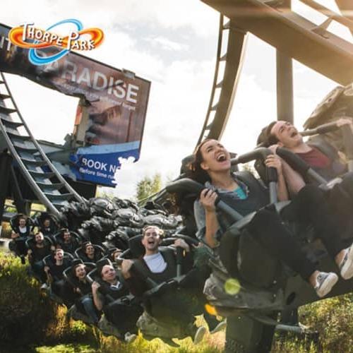 WOWCHER DEAL : Thorpe Park 2020 Seasonal Pass & 'Bring A Friend' Tkt - 'Unlimited' Visits! £45
