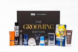 Amazon Beauty x GQ Presents: The Grooming Edition with 12 month digital sub (For optional extra £12) to GQ Mag now £23.50 at Amazon