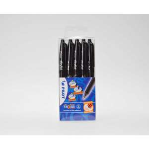 Pilot Frixion Rollerball erasable pens, Pack of 5 £7.49 with FREE click and collect @ Rymans
