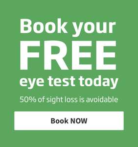 Free eye tests at certain branches @ specsavers