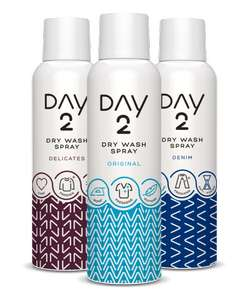 Day 2 clothes dry wash spray only £2 at Wilko