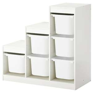 TROFAST Storage Combination with Boxes - £49 @ IKEA (+More storage offers in op)