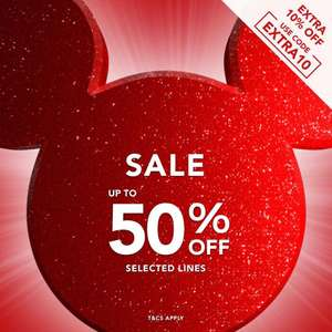 Up to 50% Off Disney Sale + Extra 10% Off Sale with code @ Shop Disney