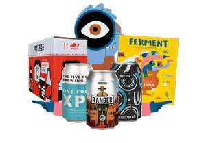 8 Beers for £5.95 delivered at Beer52