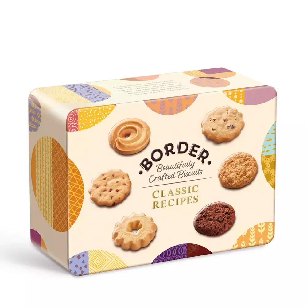 Border - Classic Recipes Biscuit Tin 500g £3.40 Debenhams - free Click & Collect