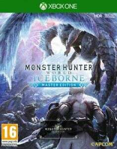 Monster Hunter World Iceborne Master Edition Xbox One now £34.99 delivered at play-uk eBay