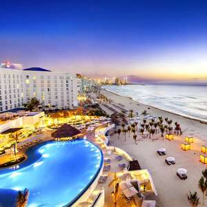Return flights to Cancun from Manchester now £350 (Departing 25th Feb - 3rd March Inc. taxes exc. checked baggage) at Skyscanner