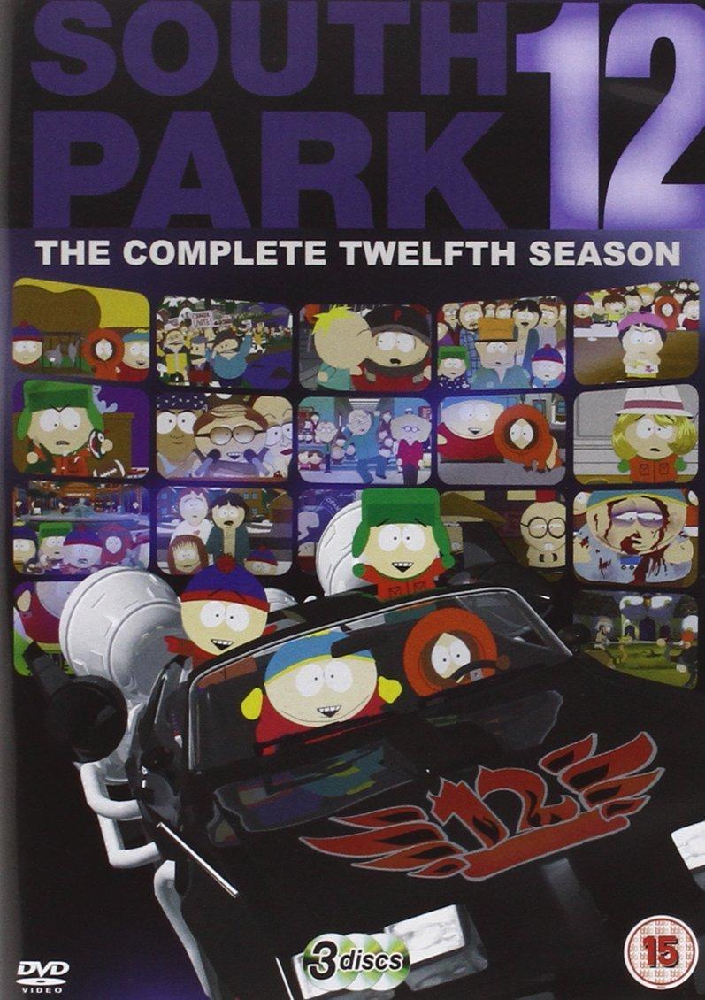 South Park - Season 12 and Season 6 (re-pack) [DVD] UK Import £2.99 each at Amazon Prime (+£1.99 non Prime)