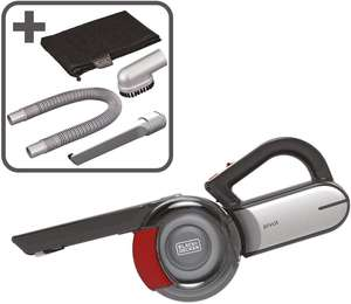 Black & Decker 18V Lithium Cordless Car Pivot Vacuum + Accessories Pack for £39.99 delivered @ Costco