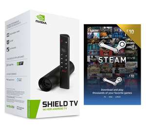 NVIDIA Shield TV (Tube) + £10 Steam Wallet Code £147.03 @ Currys