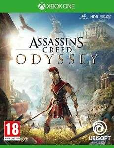 Assassin's Creed Odyssey for Xbox One for £18.85 delivered (using code) @ eBay / The Game Collection Outlet