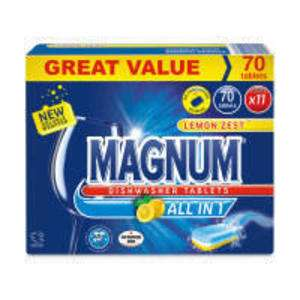 Aldi Magnum Dishwasher Tablets x 70 now £1.00