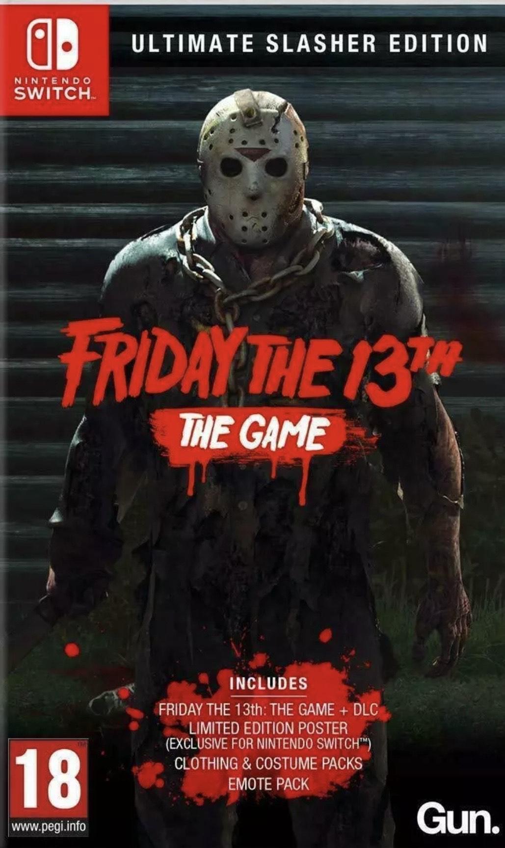 Friday The 13th Ultimate Slasher Edition (Nintendo Switch) @ evergameuk via eBay